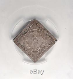 1783 Russia Catherine II The Great Imperial Russian Academy Silver Klippe Medal