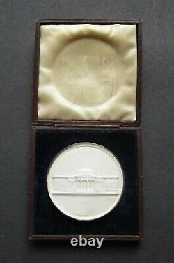 1823 MANCHESTER ROYAL MECHANICS INSTITUTION 50mm SILVER MEDAL BY WYON