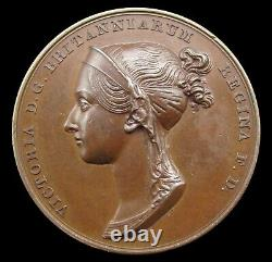1838 Victoria Coronation Official Royal Mint Bronze Medal