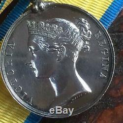 1854-1855 BALTIC MEDAL Royal Navy, Marines, Crimea REALLY NICE & CRISP ORIGINAL
