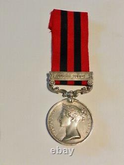 1854 Indian General Service Medal Burma 1885-7 Clasp Royal Scots Fusiliers