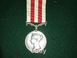 1857-58 Indian Mutiny Medal Pte James Bird Royal Irish Regiment