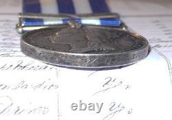 1882 Egypt Medal, Clasp & Named Khedive Star To I Batt, 2 Bde, Royal Artillery