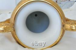 1895 Russian Tsar Nikolai II Royal Imperial Porcelain Vases Kovsh Goblet Chalice