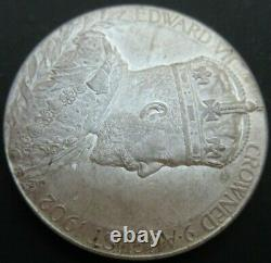 1902 Edward VII Coronation Medal Silver in 1902 ROYAL MINT ENVELOPE Cc2