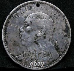 1914 Chinese Dollar coin/Medal, 1938 Hankow Overstamp Medal Issued Royal Navy