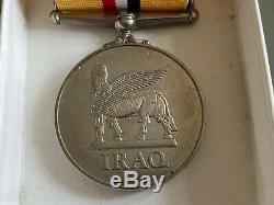 2003 IRAQ MEDAL / OP-TELIC MEDAL, GILBERT, Princess of Wales's Royal Regiment