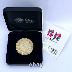 2012 Olympic Thankyou Recognition Medallion Medal Royal Mint From Prime Minister