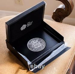 2015 Battle of Waterloo Pistrucci's Silver medal. Directly from the Royal Mint