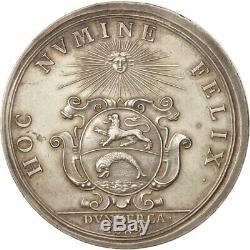 #408117 France, Medal, Royal, Ville de Dunkerque, Louis XIV, History, 1689