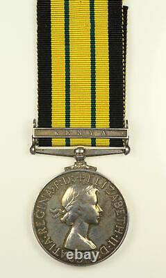Africa General Service Medal Kenya Bar Royal Signals