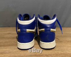 Air Jordan 1 Retro High OG Royal Blue Gold Medal Size 5.5y