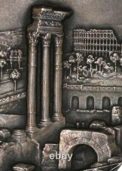 Anniversary of Augustus. Gaius Julius Caesar 1937. Rome Imperial Forums. 82mm