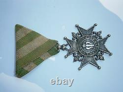 Antique RARE OLD ORDER ROYAL Medal ascent of Prince Ferdinand I 1887