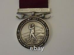 Antique Scottish Silver Medal, Royal Aberdeen Golf Club, Monthly Handicap Medal