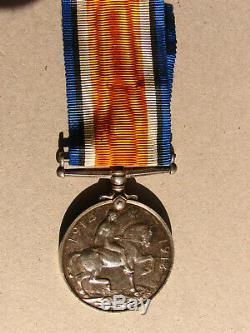 Aust War Medal Ww1 Royal Aust Navy Brigade Sick Bay Steward