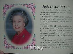 Australia 1992 Silver Proof 4x $25 Dollars Coin & Medallion Set Royal Ladies