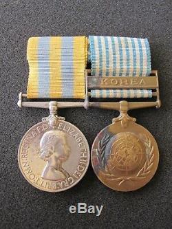 Australian Korean War medal group. 3rd Battalion, Royal Australian Regiment