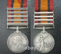 Australian South Africa 1899 Boer War Medal Queensland Imperial Bushmen