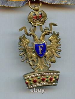 Austro-Hungarian Austria ROYAL ORDER OF THE IRON CROWN Knight 3rd Class Medal
