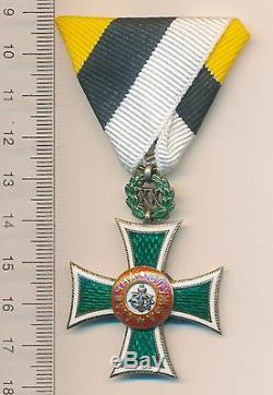 BULGARIA ROYAL order Bulgarian MEDAL Long Service Cross 20 Years Service 1889