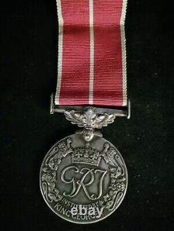 British Empire Medal Petty Officer Cook LJ Francis PAPERWORK HMS ROYAL RUPERT