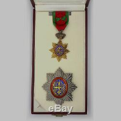 Cambodia Medal Royal Order of Cambodia 2nd class with case Rare