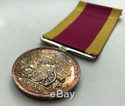 China 1842 Medal, Gunner 3rd Class Stephen Slade, Royal Navy HMS Melville