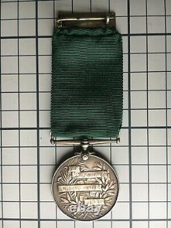 Edwardian Volunteer Force Long Service Medal 4th VB Royal Fusiliers Perry Army