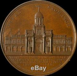 England, Queen Victoria 1838 Royal Exchange Destroyed medal by Barber RARE