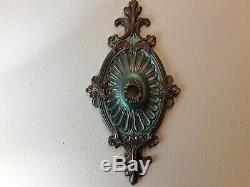 Exquisite New Royal Vintage Look Handpainted Ceiling Medallion Chandelier Decor
