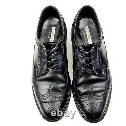 Florsheim Imperial Black Shell Cordovan Longwing Bluchers 11 D 72022 90s Rare