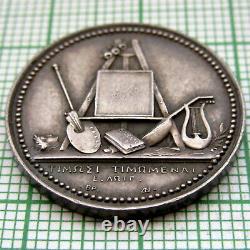 France Napoleonic 1808 Queen Hortense Royal Mint Visit Memorial Medal, Silver