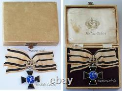 GEmany WW1 Royal Order Louise Prussia Crown 1Cl Cross Medal Decoration German