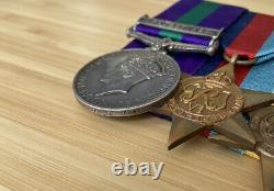 GSM Palestine Medal Group to Royal West Kent Regt POW