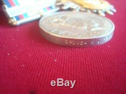 GULF WAR MEDAL with 16th Jan to 28th Feb 1991 BAR ROYAL NAVY & KUWAIT MEDAL