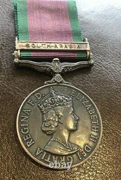 General Service Medal 1962-2007- Shaw Royal Marines South Arabia Commando