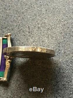General Service Medal Northern Ireland Royal Marines 42 Commando O'Shea