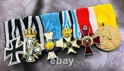 German Imperial Medal Bar / German Wwi Medal/ Parade Bar