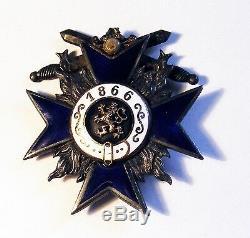 German Imperial Military Silver Medal, Order, Cross