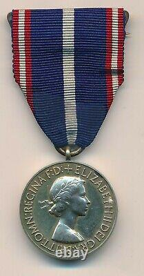 Great Britain Royal Victorian Medal QEII in original case of issue Silver