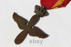 Greece Greek Ww2 War Hellenic Royal Air Force Medal Ribbon Propeller Wings Cross