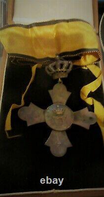 Greek Hellenic Wwii Commander Royal Cross Order Of The Phoenix Medal Decoration