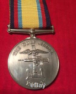 Gulf War Medal RAF Flight Sergeant A HAYTON ROYAL AIR FORCE
