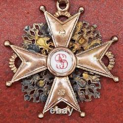 Imperial Russia Medal Order of St Stanislas 3rd class