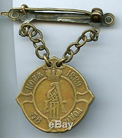 Imperial Russia badge JUDGE of volost in Courland Governorate Medal AIII Russian