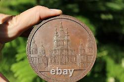 Imperial Russian bronze medal in honor of Maria Fedorovna 1748-1835