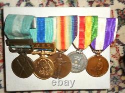 Japanese Imperial Medal Bar. WW1 era