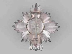 LIECHTENSTEIN Merit Medal Commander Star Badge Officer Silver Royal Principality