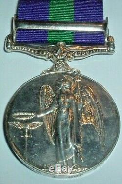 Medals-original General Service Medal'canal Zone' T White Royal Armoured Corps